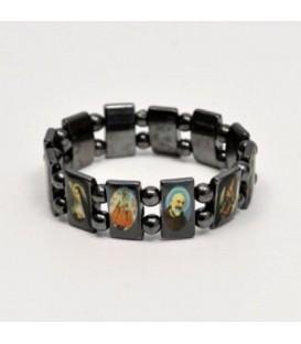 Multisanti in Hematite bracelet