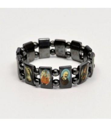 Multisanti dans bracelet hématite