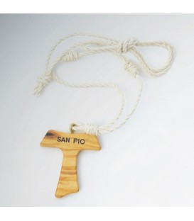 Tau necklace with Natural Twine