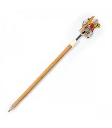 Bleistift-Papst