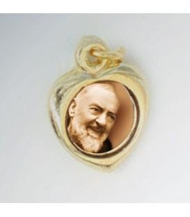 Medalha de coração pequeno