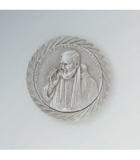 Sticker Padre Pio with magnetic relief