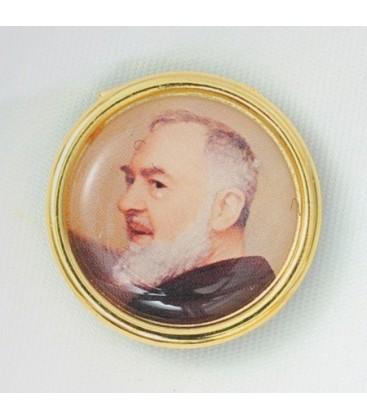 Adesivo Padre Pio per auto