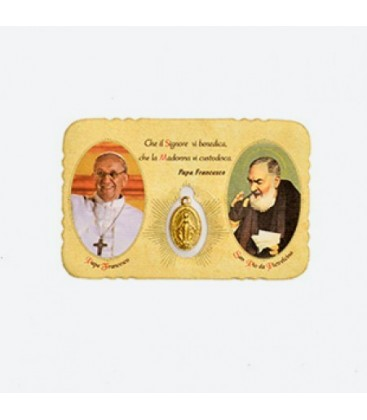 Pope Francesco  image pocket card