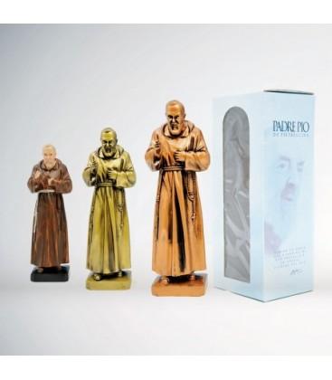 Statua Padre Pio cm 15