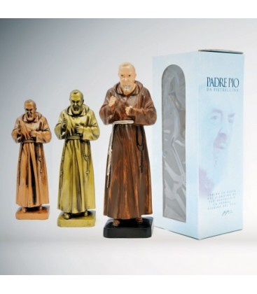 Statua di Padre Pio  cm 30