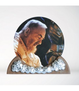 Padre Pio Photo Frame