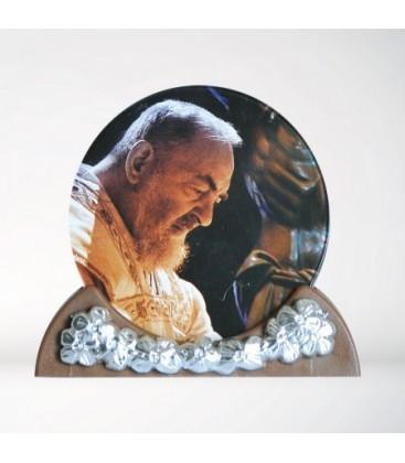Marco de foto de Padre Pio