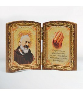Wood Diptych Big Hand
