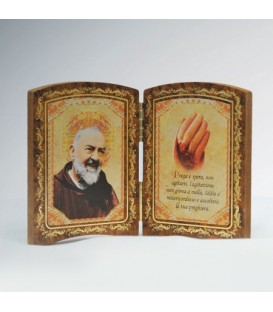 Wood Diptych Small Hand