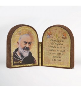 Mdf diptych with Sentence