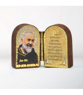 Mini Mdf diptych with Sentence
