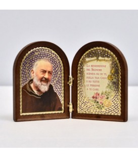 Dittico San Pio in termopolimero