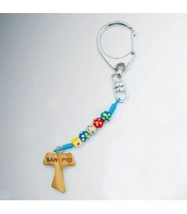 Schlüsselanhänger aus Holz Missionar
