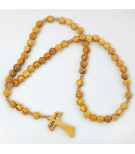 Rosary in Olivier Worked Grains