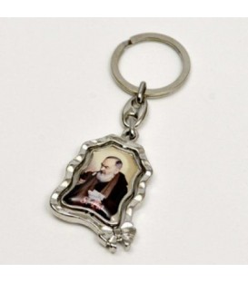 """Protetor de porta-chaves """"San Pio"""" e """"Madonna delle Grazie"""""""