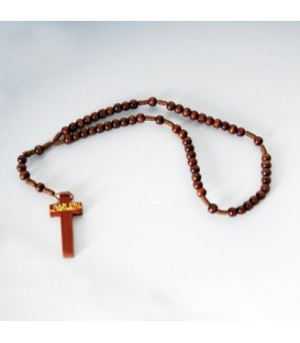 Wood Rope Rosary
