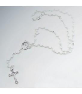 Average Sandblasted Grains Metal Rosary