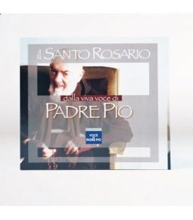 Cd Santo Rosario con la voce di Padre Pio