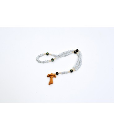 ROSARY AND CRYSTAL STRASS