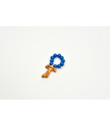 Lacquered wood Small Rosary