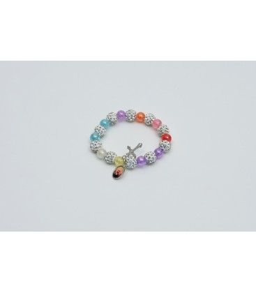 GRAINS BRACELET GLITTER MULTICOLOR