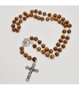 Rosario de madera