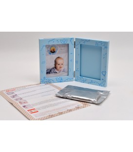 FRAME FOR CHILDREN WITH FINGERPRINT KIT