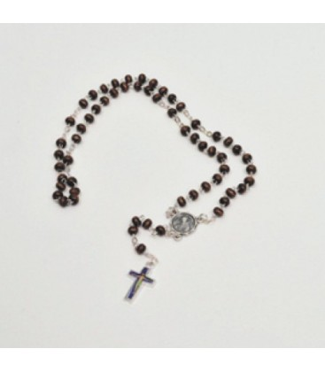 Wood and metal Rosary
