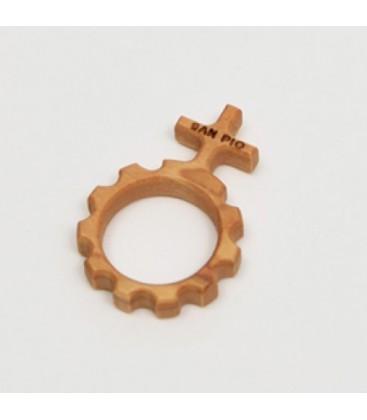 Zehn Holz-ring