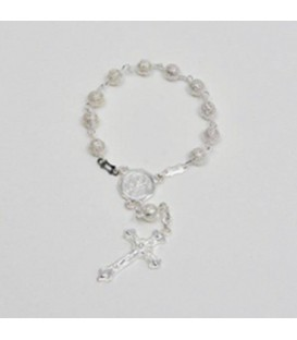 Small Rosary with Silver color Watermark