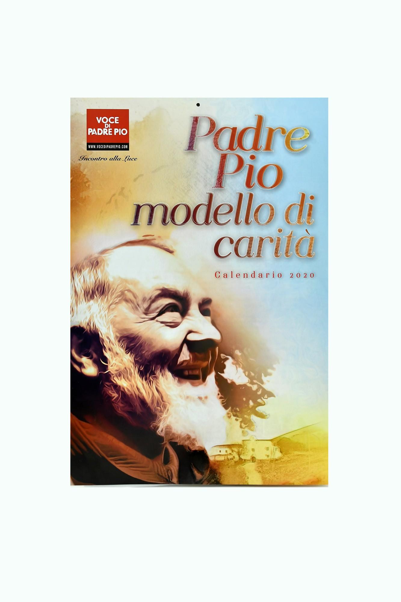 Calendario Comunioni 2020.Calendar From Wall 2020 Edizioni Padre Pio Da Pietrelcina