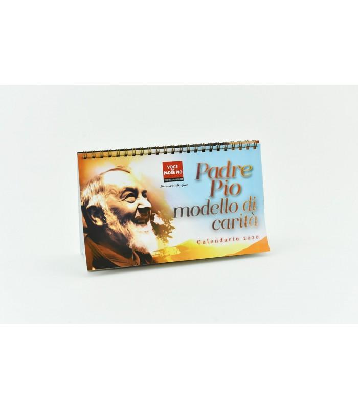 Calendario Da Scrivania 2020.Calendario Da Tavolo 2020 Edizioni Padre Pio Da Pietrelcina