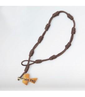 Bracelet corde naturelle du pèlerin